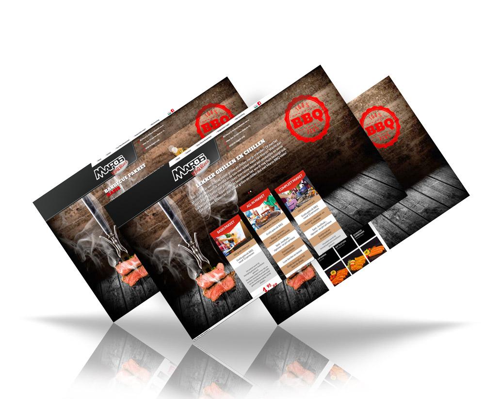 Responsive Webshop Website Maros BBQ Vlees