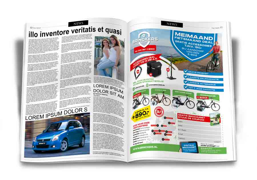 Brinckers Advertentie Ontwerp Krant 2