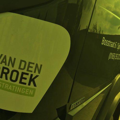 Van den Broek bestratingen header