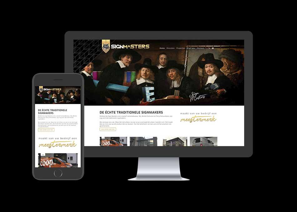 Website Sign Masters responsive