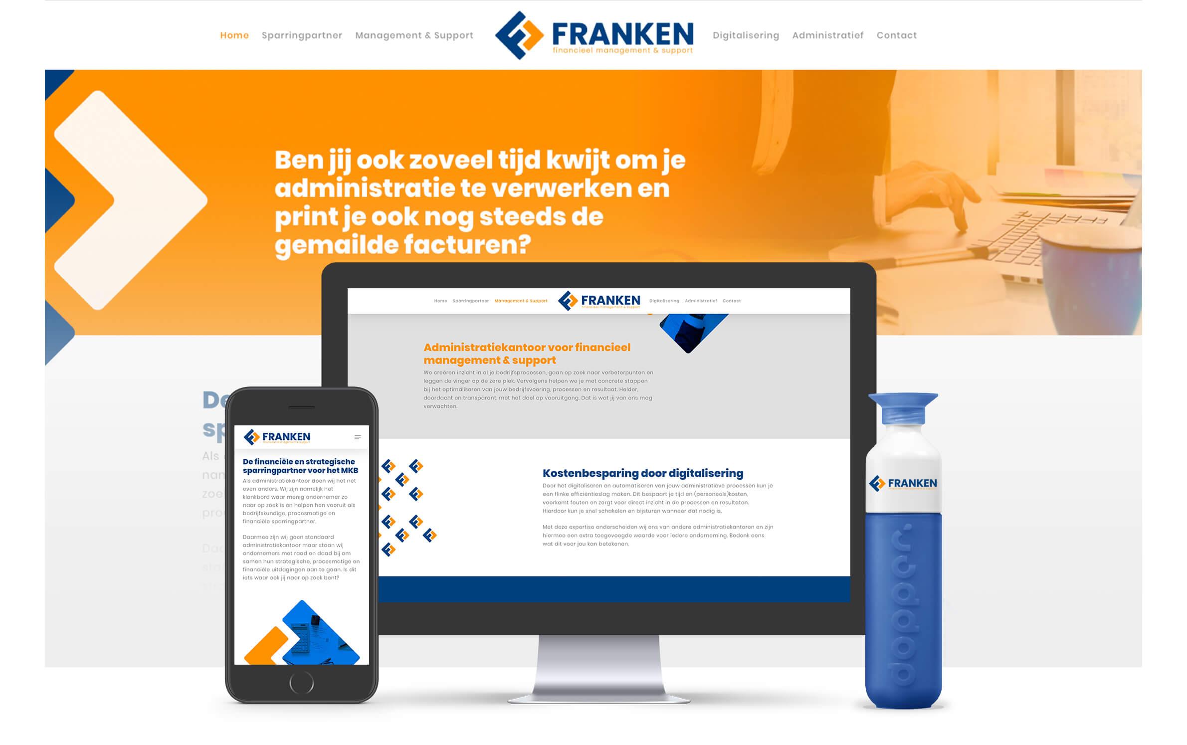 Franken FMS responsive website